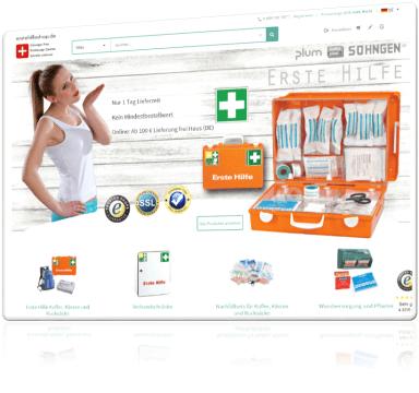 Erstehilfeshop.de - Erste Hilfe Produkte günstig kaufen